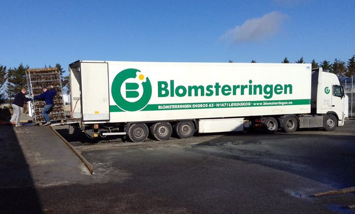 Image of Blomsterringen truck